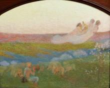 Пастух и три музы - Мартен, Анри Жан Гийом