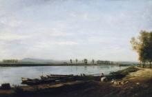Сена в Безоне - Добиньи, Шарль-Франсуа