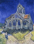 Церковь в Овере (Church at Auvers (aka The Church at Auvers), 1890 - Гог, Винсент ван
