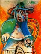 Сидящий старик, 1970 - Пикассо, Пабло