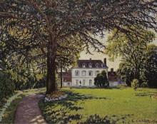 Парк замка Периньи,, 1910 - Кариот, Густав