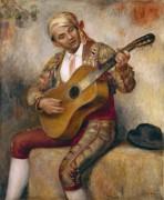 Испанский гитарист - Ренуар, Пьер Огюст