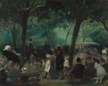 Дорожное движение в Центральном парке, Нью-Йорк - Глакенс, Уильям