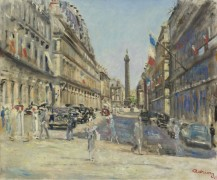 Париж, Кастильоне-стрит, площадь Вандом, 1949 - Адрион, Люсьен