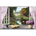 Пейзаж в окне