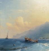 Поиск потерпевших кораблекрушение - Айвазовский, Иван Константинович