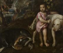 Мальчик с собаками - Тициан Вечеллио