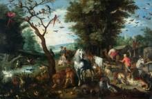 Вход в Ноев ковчег - Брейгель, Ян (младший)