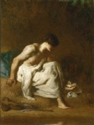 Купальщик - Милле, Жан-Франсуа