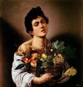 Юноша с корзиной фруктов - Караваджо, Микеланджело Меризи да