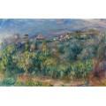 Прованский пейзаж, Кань-Сюр-Мер, 1910 - Ренуар, Пьер Огюст