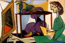 Две женщины, 1935 - Пикассо, Пабло