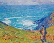 Скалы в Фалеза, 1900-04 -  Рассел, Джон Питер