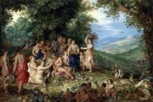 Аллегория осени - Брейгель, Ян (Старший)