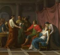 Вергилий читает Энеиду Августу и Октавии - Тайлассон Жан-Жозеф