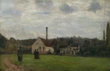 Маленькая фабрика, 1862-65 - Писсарро, Камиль