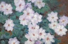 Клематисы, 1887 - Моне, Клод