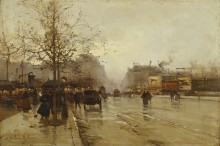 Бульвар в Париже - Гальен-Лалу, Эжен