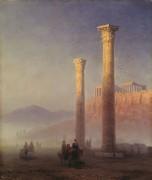 Храм Зевса Олимпийского, Афины - Айвазовский, Иван Константинович