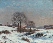 Зимний пейзаж в Верхнем Норвуде - Писсарро, Камиль