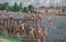 Купание, 1920 - Люс, Максимильен