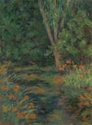 Цветы в саду, 1930 - Моне, Бланш Ошеде