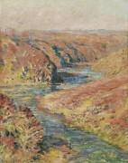 Долина Крез в Фреслайнс, 1889 - Моне, Клод