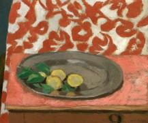 Лимоны на оловяной тарелке - Матисс, Анри