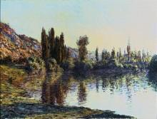 Сена в Ветее - Моне, Клод