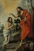 Крещение Христа - Мурильо, Бартоломе Эстебан