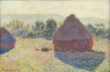 Стог сена в солнечном свете, полдень 1890 - Моне, Клод