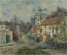 Зимний пейзаж в Шапонваль, 1908 - Луазо, Гюстав