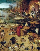 Искушение святого Антония - Босх, Иероним (Ерун Антонисон ван Акен)