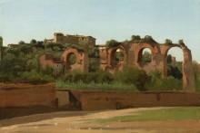Руины акведука Клавдия, Рим - Коро, Жан-Батист Камиль