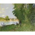 Пейзаж с двумя рыбаками (Landscape with Two Fishermen) - Монтезин, Пьер Эжен