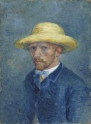 Портрет Тео ван Гога (Portrait of Theo van Gogh), 1887 - Гог, Винсент ван