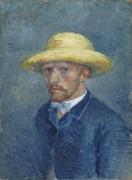 Портрет Тео ван Гога (Portrait of Theo van Gogh), 1887 - Гог, Винсент ван