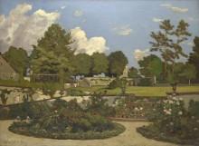 Сад художника в Сант-Прайв - Арпиньи, Анри Жозеф
