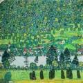 Лес на склоне у озера Аттерзе - Климт, Густав