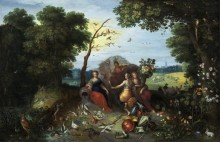 Аллегория четырех стихий - Брейгель, Ян (младший)
