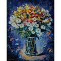 Натюрморт с цветами - Афремов, Леонид (20 век)