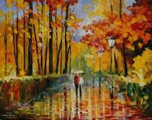 Осенний дождь - Афремов, Леонид (20 век)