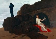 Одиссей и Калипсо - Бёклин, Арнольд