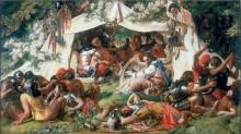 Саксонский король Альфред (переодетый менестрелем) в палатке датчанина Гутрума - Маклайз, Дэниел