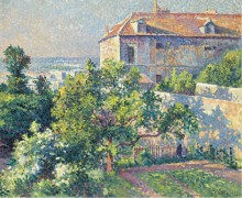 Монмартр, дом Сюзанны Валадон, 1895 - Люс, Максимильен