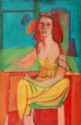 Сидящая женщина - Кунинг, Виллем де