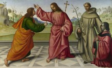 Недоверчивость святого Фомы - Бертуцци, Джованни Баттиста