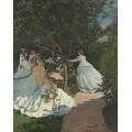 Женщины в саду, 1866 - Моне, Клод