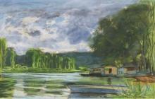 Берега Сены близ Жефосс (Эр), 1880 - Моне, Клод