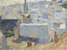 Город в Марокко (Town in Marocco), 1888 - Рейссельберге, Тео ван